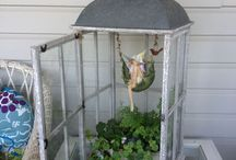 male ogródki i domki dla lalek