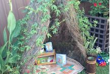 outdoor reading area
