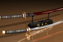 Samurai swords / I know they have been used to make war and killing, but it is a beautiful art form making such a sword