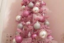 "Pink Christmas / ***In order to better manage over 1,000 Christmas ""pins"", there are now 8 different Christmas themed boards (including at least 3 Christmas/Winter themed food/recipe boards) plus a ""Wreath"" board for wreaths for any season.  Ideas/projects/recipes/etc. for having a ""Pink Christmas"" / by Nancy Thomas"