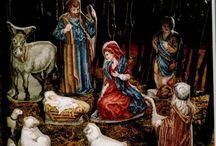 Kerst borduren 2