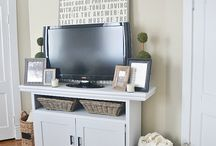DIY CONSOLE TABLES / by Paige Swain