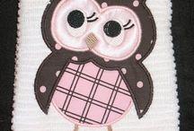 owls patchwork