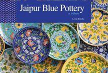 jaipur blue potrery