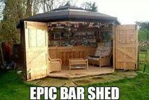 man sheds