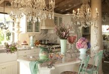 Romantic kitchens