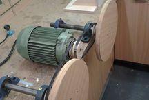 pulleys op elktriese motor