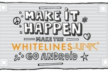 #Link4android / We are crowdfunding in order to speed up the launch of Whitelines Link for Androids / by Whitelines paper Whitelines®