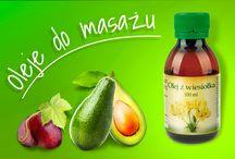 Nasze oleje do masażu / Oferta olejów do masażu marki Profarm.