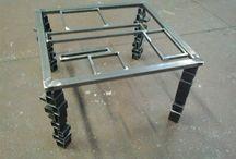 tavolo / creazioni artistiche in ferro e di design