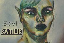 Zeynep's Drawings / My drawings