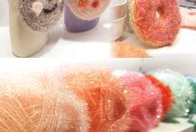 Crochet éponge