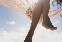 Farniente / L'heure de la pause, de la sieste. Se laisser aller, se détendre, se reposer. Au soleil, à l'ombre...