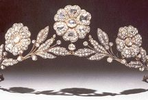 Royal Jewellery, Tiaras rings necklaces etc