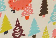 Illustrationen Weihnachten / Süße Motive , Ideen und Inspirationen für Weihnachtskarten, Geschenkpapier und Sonstige schöne Dinge, mit denen man seinen Liebsten eine Freude an Weihnachten machen kann..