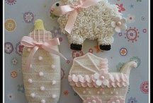 baby shower for GIRL!! :) / by Christina Wallace