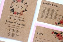 Wedding - Invitations and Signs