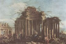 Francesco Guardi / Paintings by Italian Old Master Francesco Guardi
