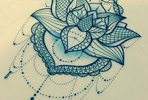 Τατουάζ με άνθη λωτού