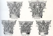 Stone- column arch drawings