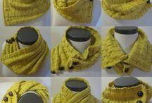 Cuellos y bufandas / Tejidos
