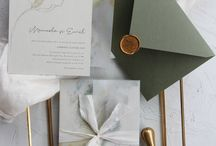 Vellum invitations and accessories / Using vellum as part of your invitation and/or accessory pieces