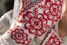 Knitting Votter