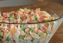 pasta salads / by Stephanie Hallman