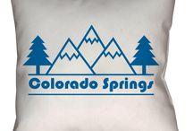 Colorado Springs Throw Pillows