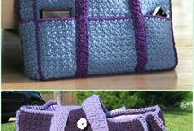 bags, purse / crochet
