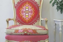 CHAIRS AND UPHOLSTERY / by Lisa Johnson