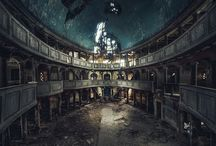 Decaying beautiful architecture