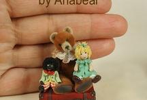 Miniature Anabear