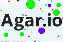 Игра Агарио / Онлайн игры Агарио, Чашка Петри, Слизарио и другие.