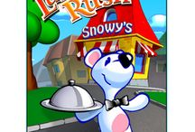 Snowy: Lunch Rush / Snowy: Lunch Rush. Help little Snowy run a restaurant! http://gamesgofree.com/download-games/snowy-lunch-rush/
