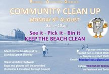 Beach Action Group / Litter and rubble action.   Please go here and complain. https://www.redcar-cleveland.gov.uk/Forms.nsf/ComplaintForm_3?readform  Post and repost, tweet, like and share. Start this ball rolling and keep it rolling until things change for the better.....or don't.  Don't be satisfied and remember why we have representatives. Who's yours? https://www.redcar-cleveland.gov.uk/Councill1.nsf/Councillors?ReadForm=&search=wards&select=+  Our beach, our town, our home - Redcar