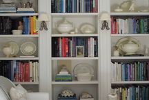 Bookshelves / by Stacey Steward {Steward of Design}