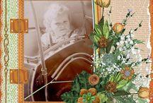Mijn lo's van Baukje / hier alle lo's met mijn oudste zus Baukje geboren op  4 Jan. 1952