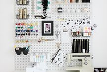 Designer Work Space / Ideas for my studio and a peek into real fashion designer work spaces