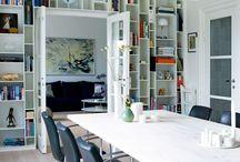 bokhyller/mediemøbler