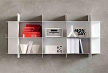Bookcases & Wall Units / Modern bookcases   Italian bookshelves   Modular, minimalist design  