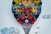 quilled paper