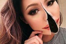 makeup en grime