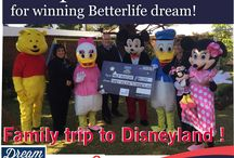 BetterLife 'Dream Bigger Live Better Lottery' June 2016 / Congratulations to our very own Philip Mostert from the Chas Everitt Westrand branch on winning the BetterLife Dream competition for a family trip to Disneyland! #ChasEveritt #BetterLife #Winning