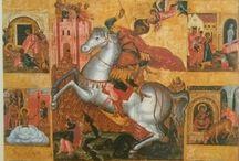 Icons - Άγιος Γεώργιος / Religious icons - Saint George