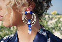 kimono inspiration / #kimono earrings