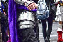 Shredder cosplay