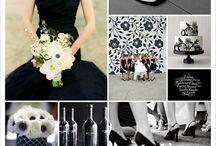 Black Inspired Wedding Ideas