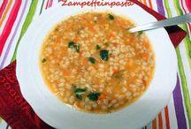 Zuppe e minestre - Soups