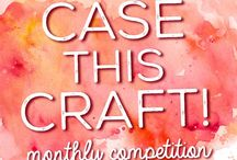 Case This Craft Projects / A showcase of all the cards that have entered our monthly competition! Put your own creative spin on this month's card to WIN a voucher to spend on our website. You can enter from our Facebook Page here https://www.facebook.com/CraftersCompanion/